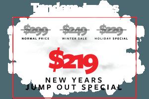 Skydive LV Pricing